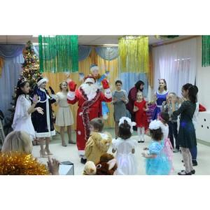ОНФ в Волгоградской области провел акцию «Новогоднее чудо» в детском доме Городищенского района