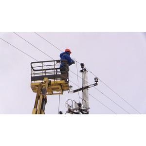 Энергетики Владимирэнерго оперативно устраняют нарушенное электроснабжение в части г. Владимира