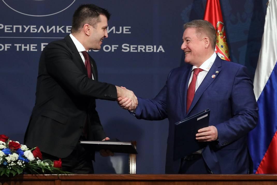 Георгий Боос посетил Сербию в ходе официального визита на высшем уровне