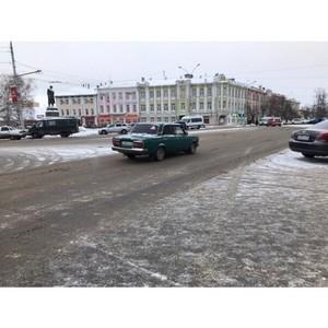Активисты ОНФ провели мониторинг качества уборки снега в Вологде