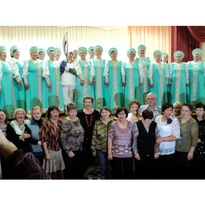 Визит хора «Ветеран» в Нефтеюганский район