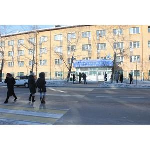 Активисты ОНФ настояли на переносе аварийно-опасного пешеходного перехода перед колледжем в Кызыле