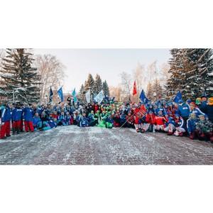 Наши студенты на старте Всероссийской патриотической акции «Снежный десант РСО»
