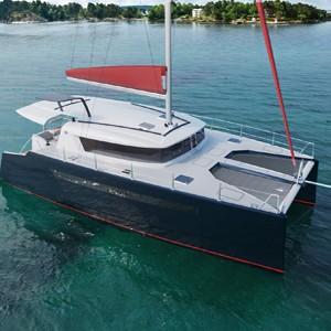 Pacifico Yachts представляет круизный парусный катамаран Pacifico Sail 153