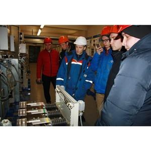 Молодые специалисты Удмуртэнерго знакомятся с современными объектами энергосистемы республики