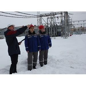 В филиале «Калугаэнерго» проходят практику студенты Ивановского энергетического колледжа