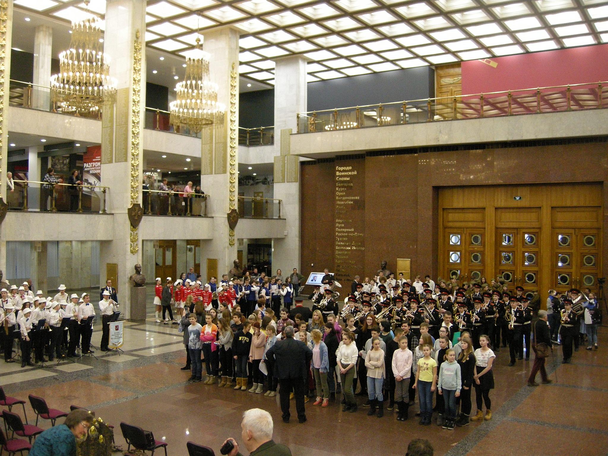 Праздничный концерт прошел в Музее Победы 23 февраля