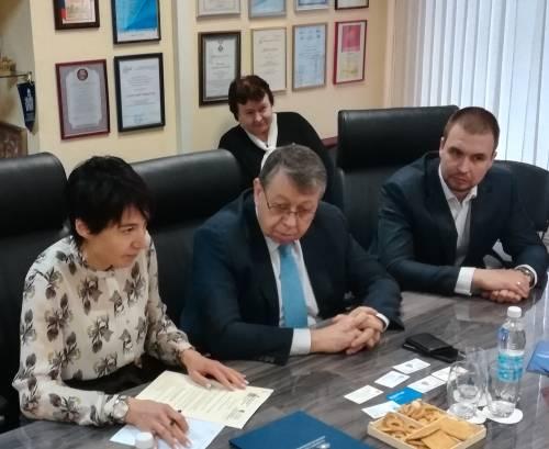 Встреча представителей МОО «МАП» с полномочными по торгово-экономическим вопросам посольства Греции