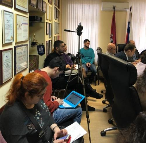 Заседание комитетов по выставочной и внешнеэкономической деятельности и комитета по госзаказу и развитию предпринимательства