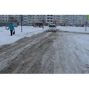ОНФ в Югре просит власти найти ответственного за содержание подъездной дороги к МФЦ