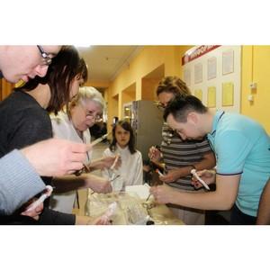 Вологодские активисты ОНФ провели мастер-класс для детей с особенностями развития