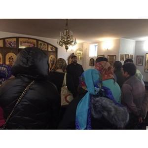 Для осужденных, состоящих на учете в УИИ, организовано посещение православного храма