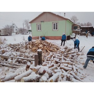 «Молодежка ОНФ» в Коми провела акцию помощи жителям сельских районов