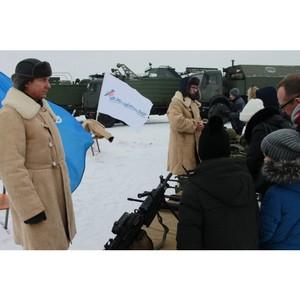 Волгоградская команда «Молодежки ОНФ» присоединилась к всероссийской акции «Случайный вальс»