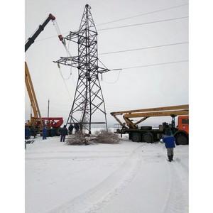 Специалисты Тамбовэнерго помогают коллегам в Ростове восстановить электроснабжение из-за непогоды