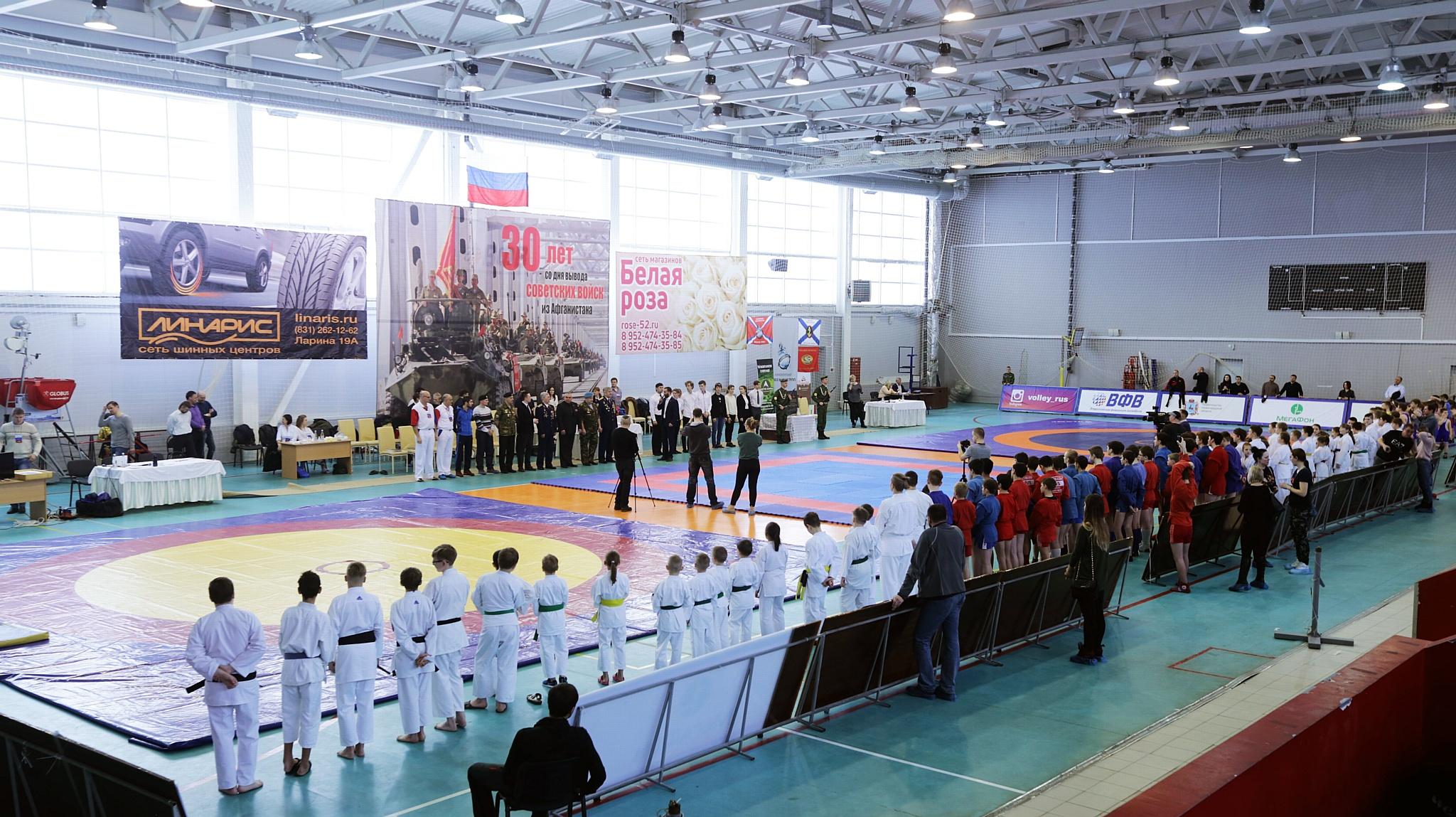 В Нижнем Новгороде почтили память героев локальных конфликтов