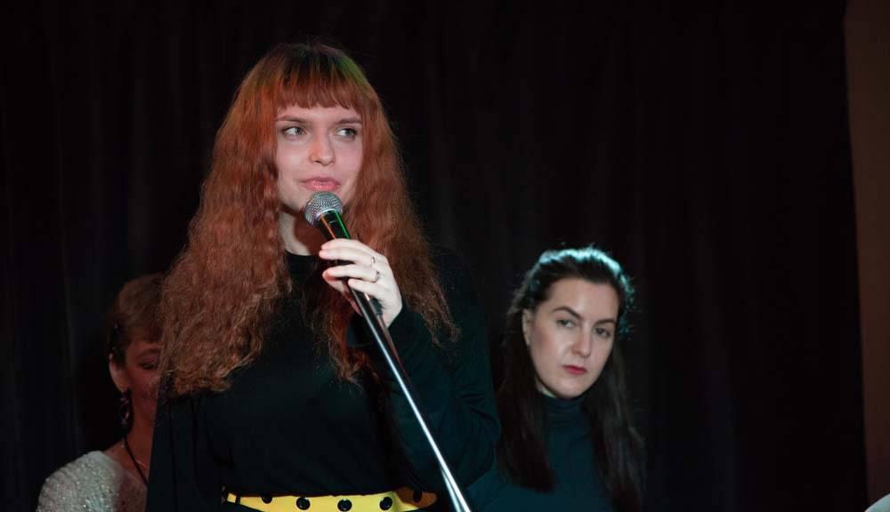 21.02.2019 г. состоялся поэтический спектакль Монориммужеству от Театра живого слова