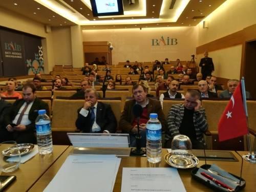 Выступление представителей МОО МАП в Турции (Анталья) перед членами Ассоциации экспортеров Западного Средиземноморья (АЭЗС)