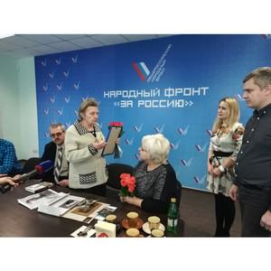 При содействии волгоградских активистов ОНФ найдены родственники погибшего в ходе войны танкиста