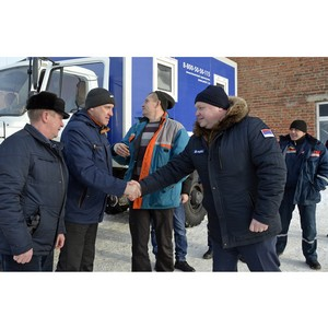 Специалисты Тамбовэнерго отправились на помощь коллегам из Ленэнерго