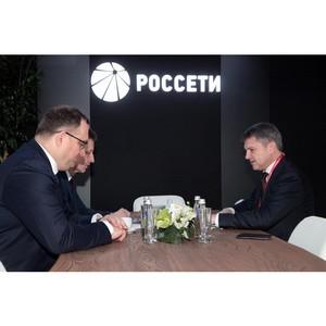 Губернатор Владимирской области и гендиректор МРСК Центра обсудили развитие энергосистемы региона