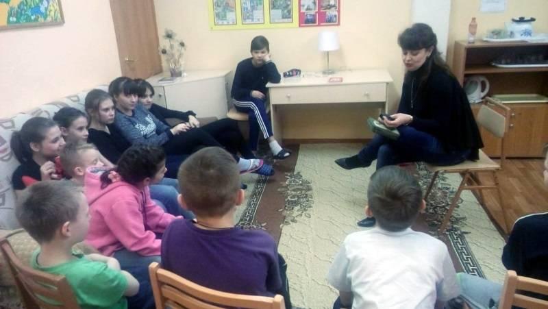 «Молодежка ОНФ» в Мордовии провела для детей из соцприюта познавательное занятие с элементами игры