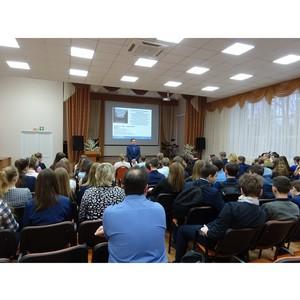 Сотрудники Тамбовэнерго проводят профориентационную работу среди школьников