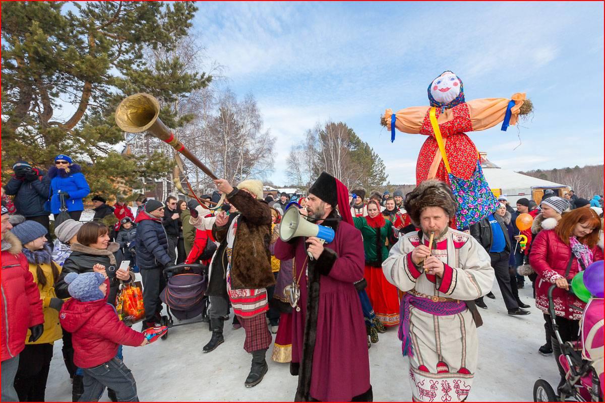 Большое гулянье коренных народов Урала «Масленица на Фестивальной»