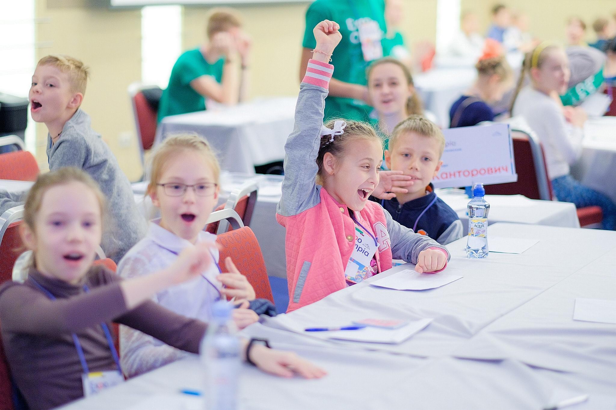 В Петербурге пройдут III Арифметические игры ExpoOlimpia  для 1-6 классов
