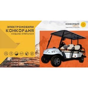 Новый гольфкар Конкордия 2019 рестайлинг