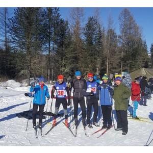 Росгвардия Тувы выиграла лыжные гонки «Динамо»