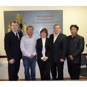 Встреча представителей МАП и Российско-Китайского фонда развития культуры и образования