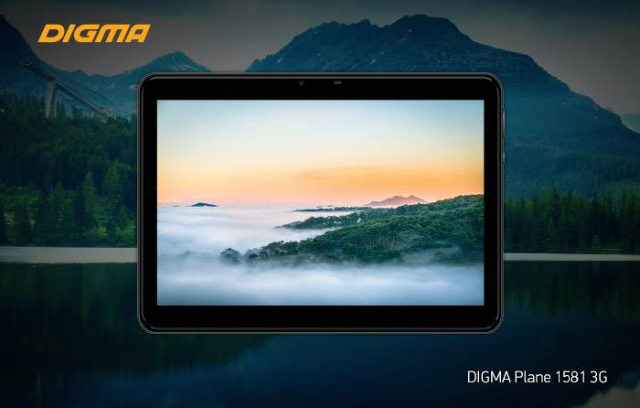 Digma Plane 1581 3G: больше планшет – больше развлечений