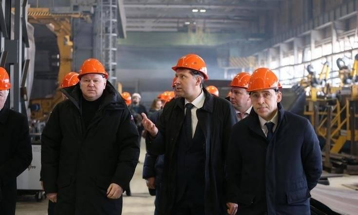 Посещение Уралвагонзавода