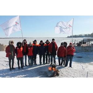 Команда «Молодежки ОНФ» в Амурской области провела акцию «Уха на всю страну»