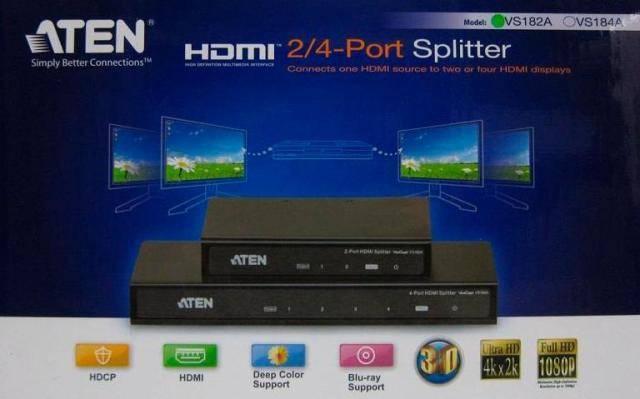 Aten eShop Russia: скидка на HDMI разветвители Aten