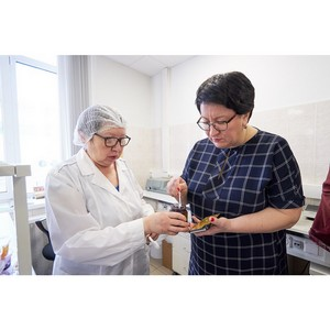 Глава городского округа Красногорск побывала на предприятии «Союзснаб»