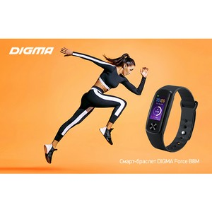 Смарт-браслет Digma Force B8m: фитнес с умным подходом