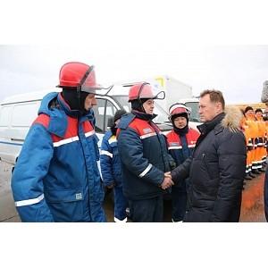 Филиал «Калугаэнерго» принял участие в смотре готовности сил и средств к паводку