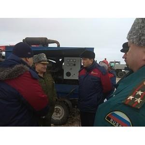 Специалисты филиала «Мариэнерго» провели совместную тренировку в Советском районе республики
