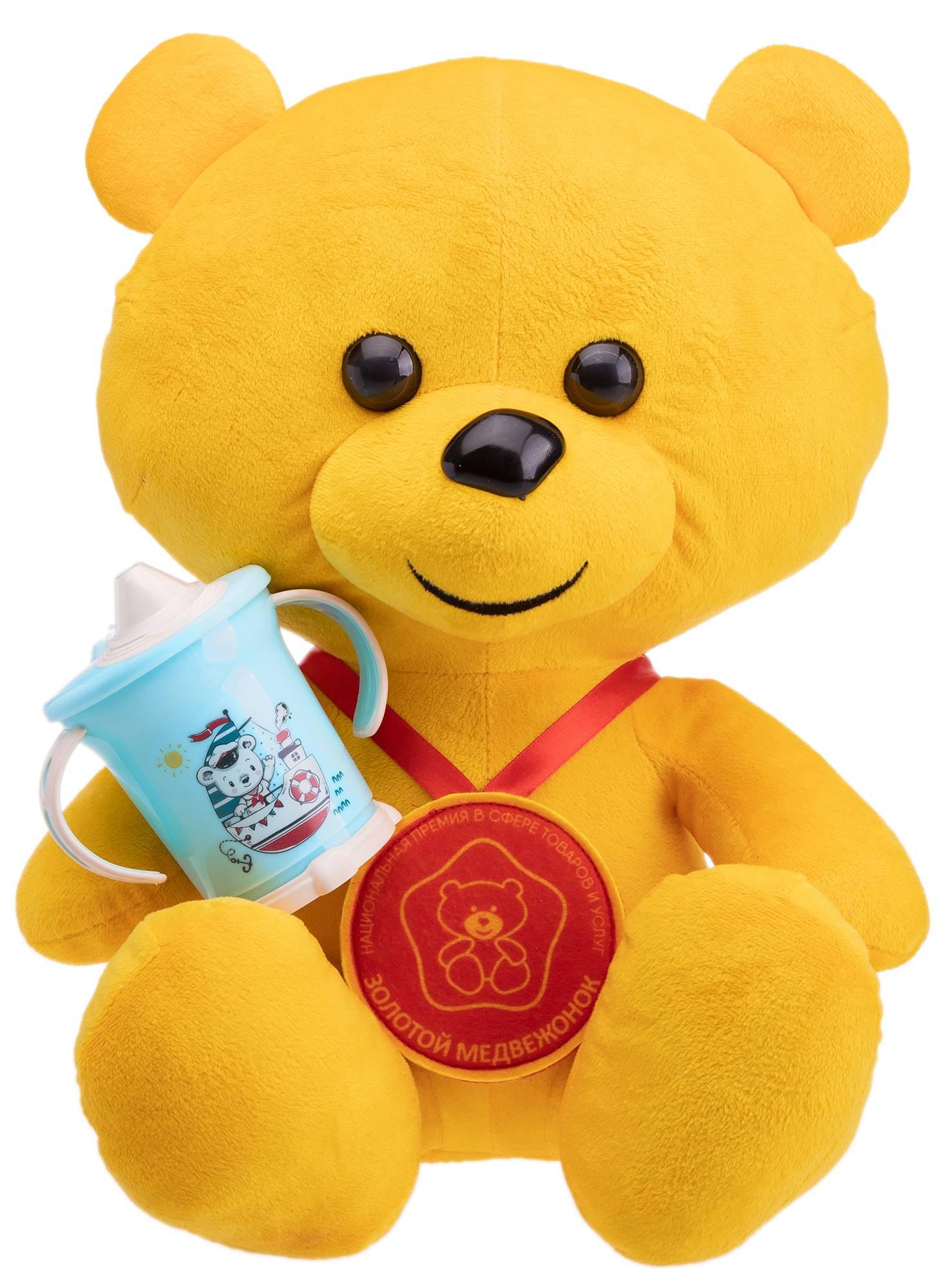 Лауреат премии «Золотой медвежонок» в категории «Лучшие товары для малышей» - поильник «Пластишка»