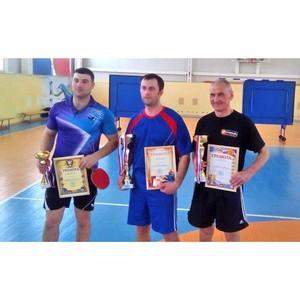 Сотрудники Тамбовэнерго стали победителями теннисного турнира