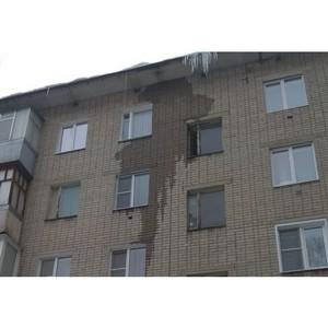 ОНИ помогли жильцам многоквартирного дома в Воронеже добиться ремонта кровли