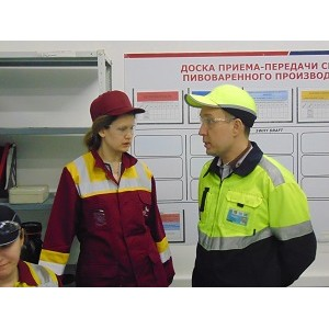 Представители Правительства Ивановской области посетили предприятие «АБ ИнБев Эфес»