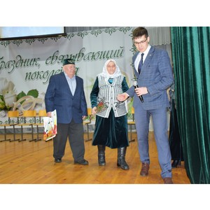 «Праздник, связывающий поколения» объединил юбиляров семейной жизни в Батыревском районе