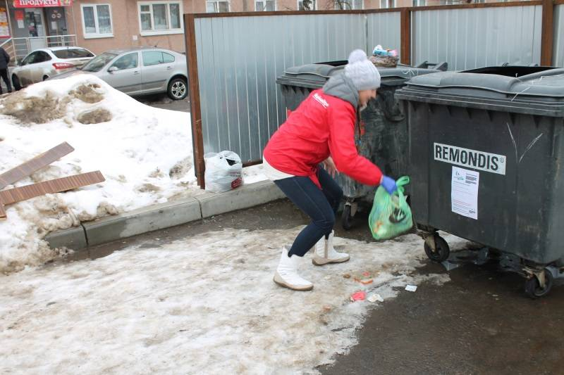 Ђћолодежка ќЌ'ї в ћордовии провела экологический рейд