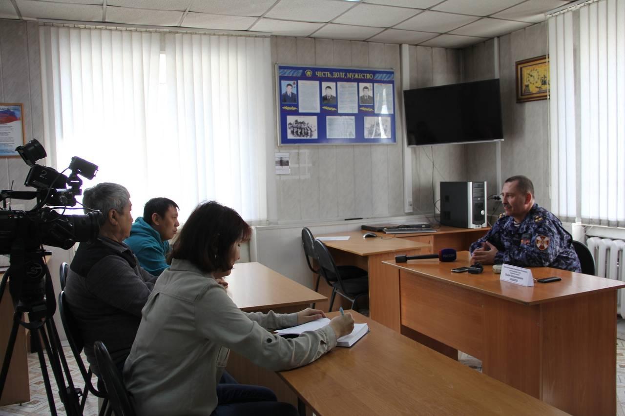 Безукоризненное выполнение своего долга: Росгвардия в Кызыле отмечает свой профессиональный праздник