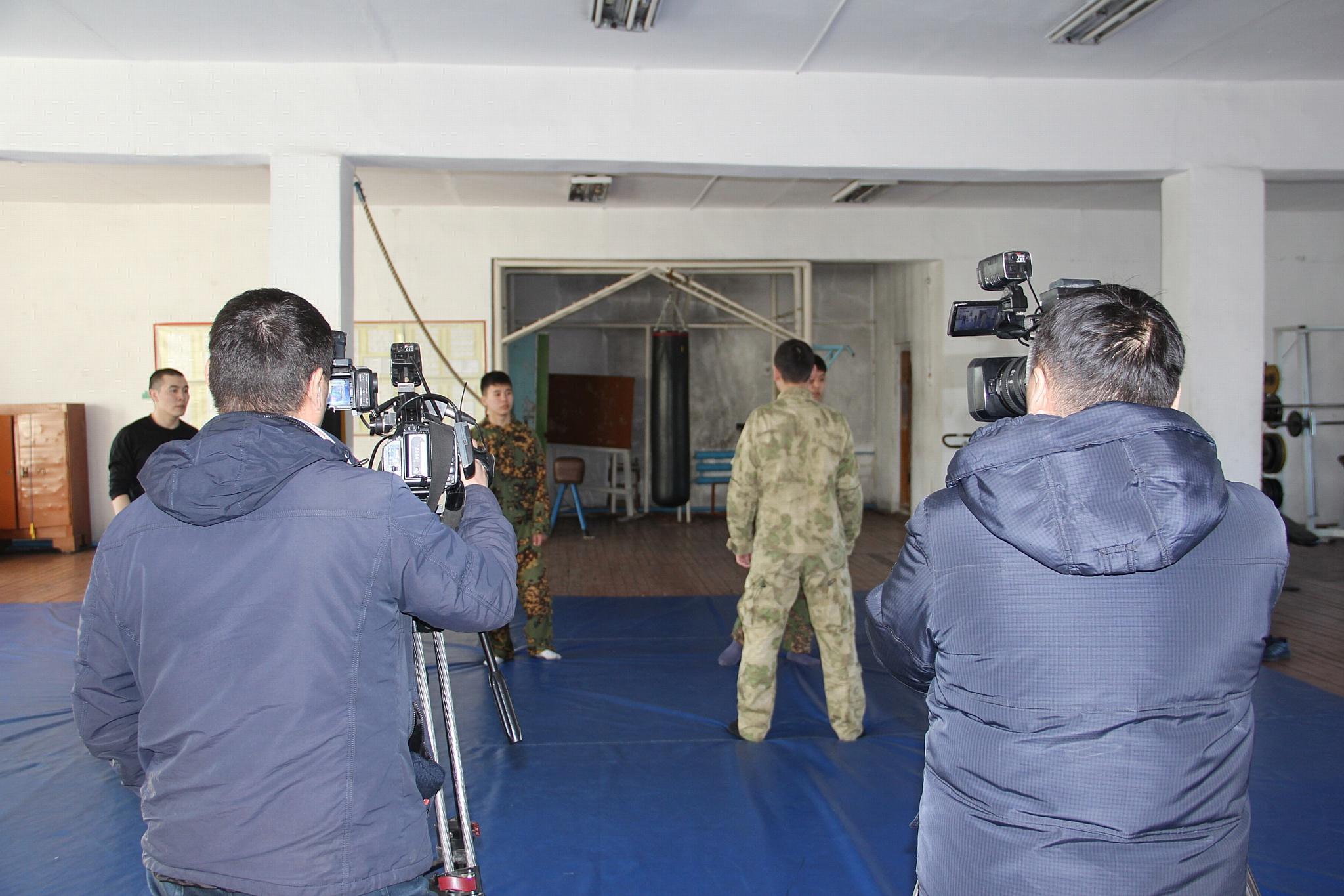 Росгвардия Тувы провела пресс-тур для региональных журналистов