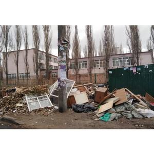 Госжилинспекция подтвердила выявленные ОНФ нарушения в содержании контейнерных площадок в Воронеже