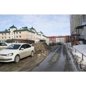 ƒепутаты вз¤ли под контроль уборку снега в Ќижневартовске